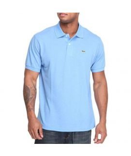 Mens Polo Shirt Aqua Blue