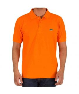 Mens Polo Shirt Orange