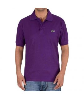 Mens Polo Shirt Purple