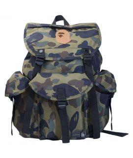 Bape x Mastermind Green Backpack