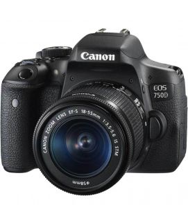 Canon EOS 750 D WITH 18 55MM LENSE