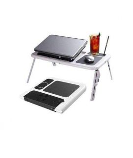 Deal Souk E-Table for Laptop with USB Cooling Pad