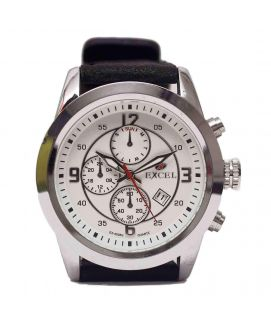 Silver Excel Watch For Men