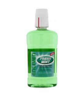 Enliven Mouth Wash Fresh Mint 500ml