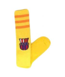 Football Planet Yellow FC Barcelona Club Socks