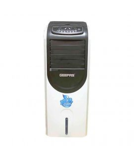 Geepas G A C376  A C Cum Big Size Air Coolerwith Remote & LED Screen Control White & Black