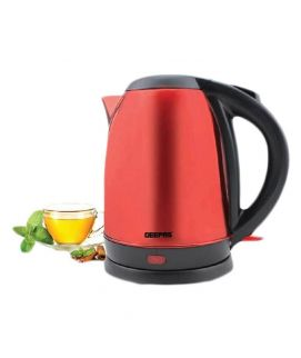 GK5464 Stainless Steel Teal Kettle Red