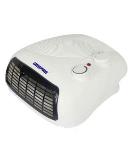 Geepas Electric Fan Heater - White & Black
