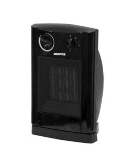 Geepas PTC Fan Heater - Black
