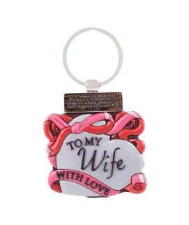 Wife With Love Keychain