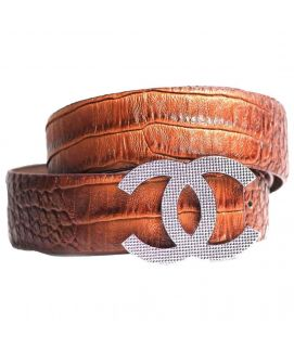 Two Shaded Shining Belt For Men