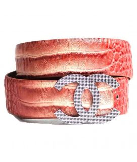 Three Shaded Shining Belt For Men