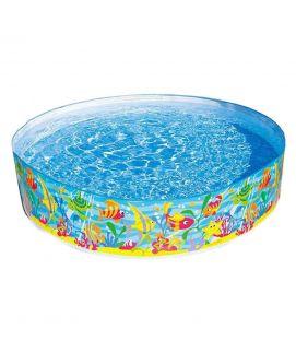Intex Corp Intex Snap Set Pool 8 feet Blue