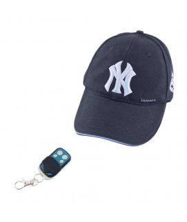 LapTab Hat with Hidden Camera Navy