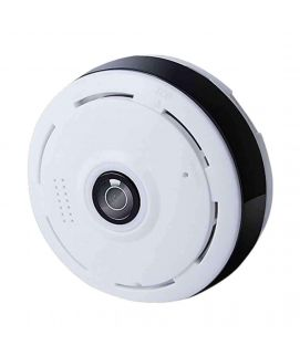 Panoramic Fisheye CCTV WiFi Camera Black White