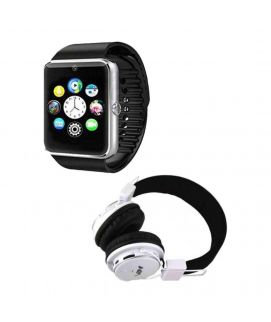 W08 Smart Watch with Sim Card Memory Card Slot Nia X3 Headphone