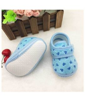 Sky Blue New Born Baby Shoes