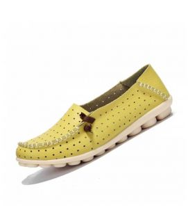 Women's Yellow Doted Shoes
