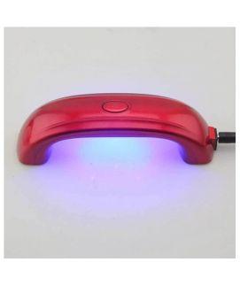 LED Lamp Mini Portable Nails Dryer Red