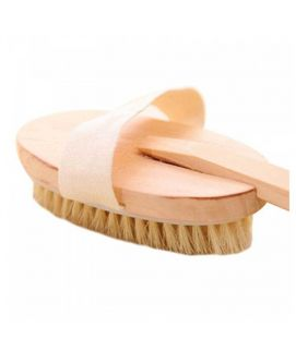 Natural Wood Bath Body Brush