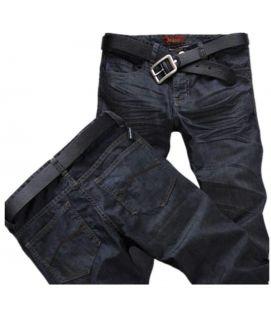 Black Regular Fit Men's Jeans
