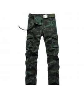 Men's Dark Green Cargo Pants