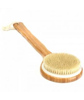Wooden Bath Shower Body Back Brush