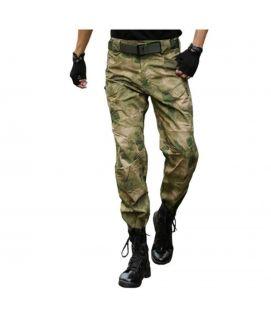 Men's Green Fatigues Pants