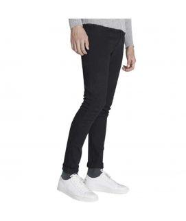Black Slim Fit Cotton Men's Pants