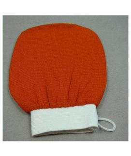 Orange Hammam Scrub Bath Glove Skin Towel