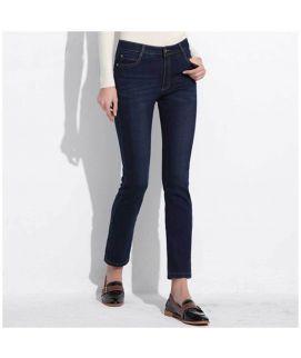 Women's Skin Fit Navy Blue jeans