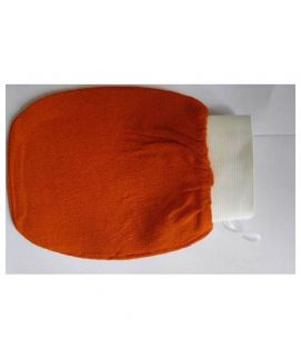 Orange Hammam Glove