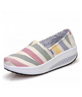 Women's Multicolor Toms Style Shoes