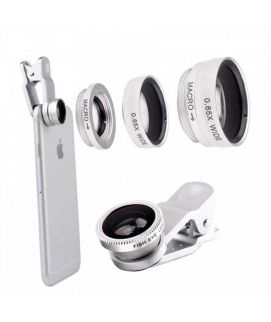 KHP 3 In 1 Universal Phone Lens Clip Camera Mobile Phone Lenses