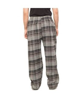 Pack of 3  Blue & Grey Cotton Pajama for Men