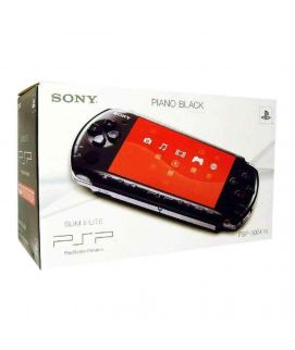 Sony PSP Slim Black With 10 Games & 8GB Duo Pro Memory Card Console