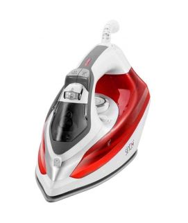 Sinbo Electric Steam Iron Red & White