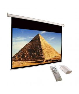 Screen 8'x6' Electric Motorised Wall Mount with Remote