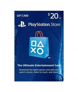 Playstation Gift Card $20 USA For PS4
