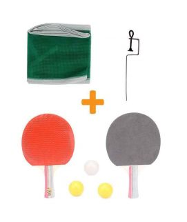 Sportica Table Tennis Racket With Net and Ball