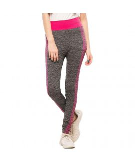 Work Out Stretchy Tights Pink