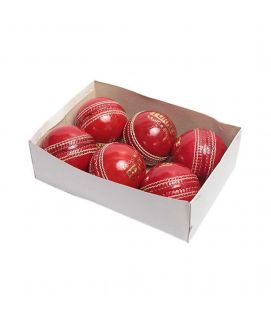 6 in 1 Yorker Cricket Hard Balls Red