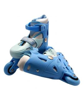 Sports City Sportica In Line Roller Skates Blue