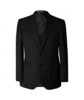 Men's Black Regular Fit Jacket