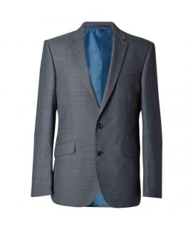 Men's Grey Tailored Fit Jacket