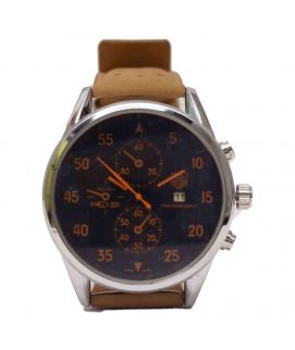 TAG Heuer Watch With Orange Dial Log