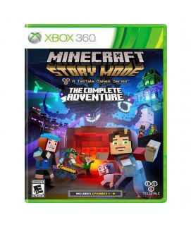 Minecraft Story Mode The Complete Adventure Game Xbox 360