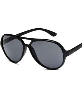 Vintage Black Driving Sun Glasses Defending Lens