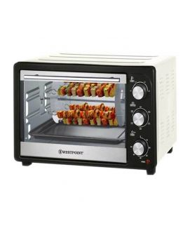 Rotisserie Oven with Kebab Grill WF-2610 1500 Watts White