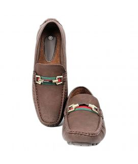 Penny Dark Brown Loafers For Men